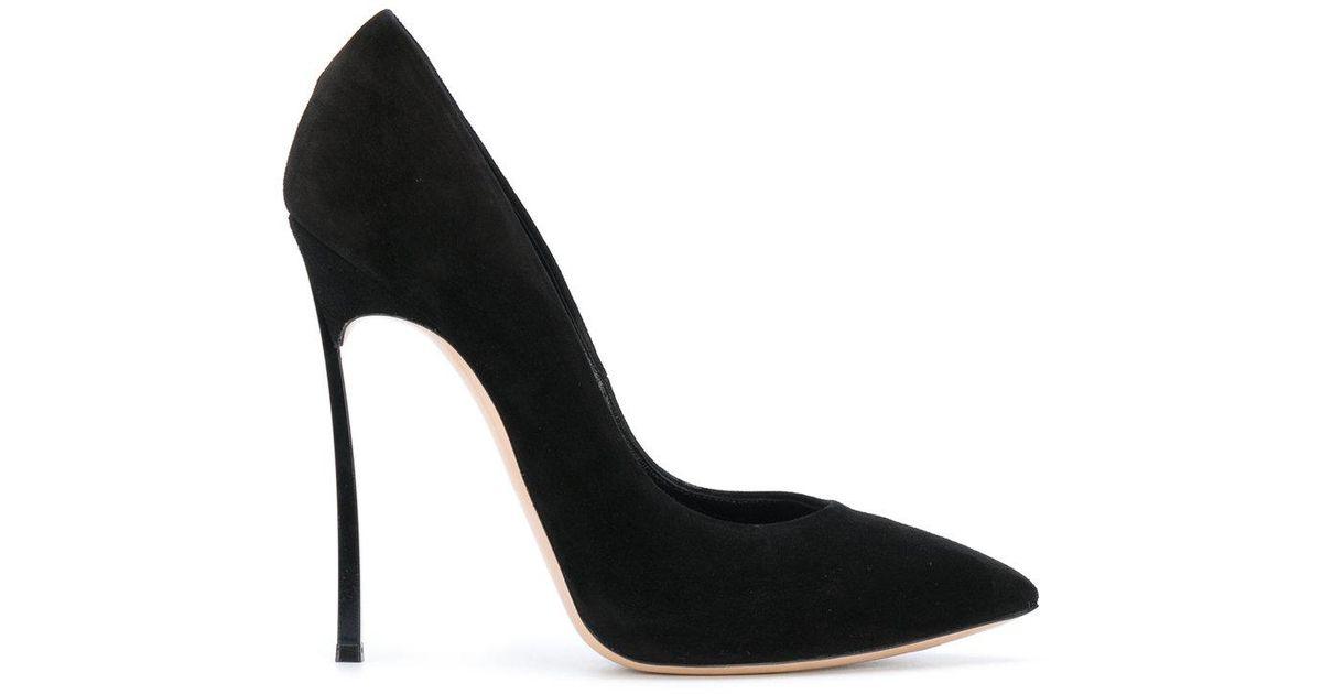1f123ae7 Lyst - Zapatos de tacón stiletto fino Casadei de color Negro