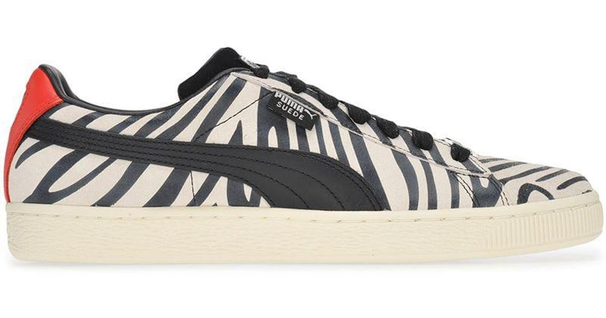buy popular 9bd01 69cd6 PUMA White Suede Classic X Paul Stanley for men