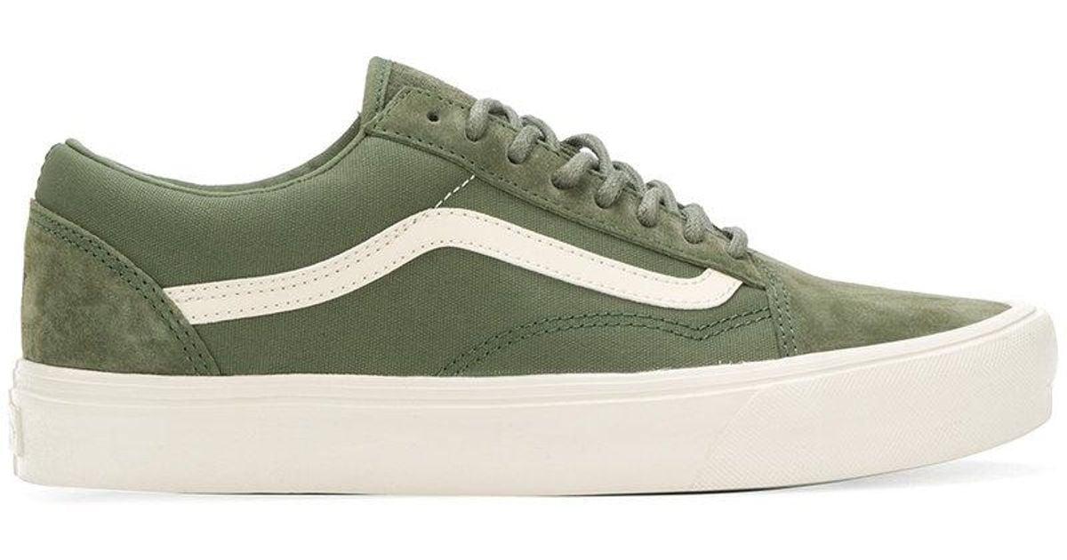 low top green vans