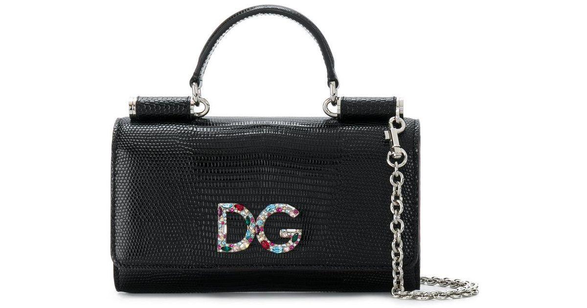 mini Sicily Von bag - Black Dolce & Gabbana GlPTQrJj