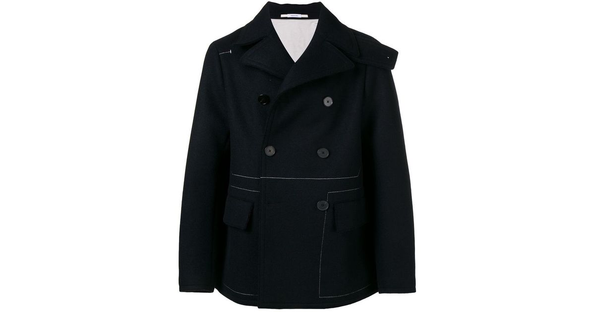 Jil Bleu Sander Coat breasted Double f1qX88