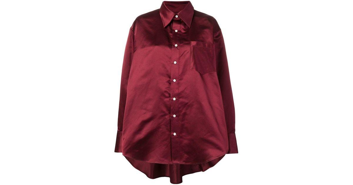 604e5fd2b9abec Matthew Adams Dolan Button Shirt in Red - Lyst