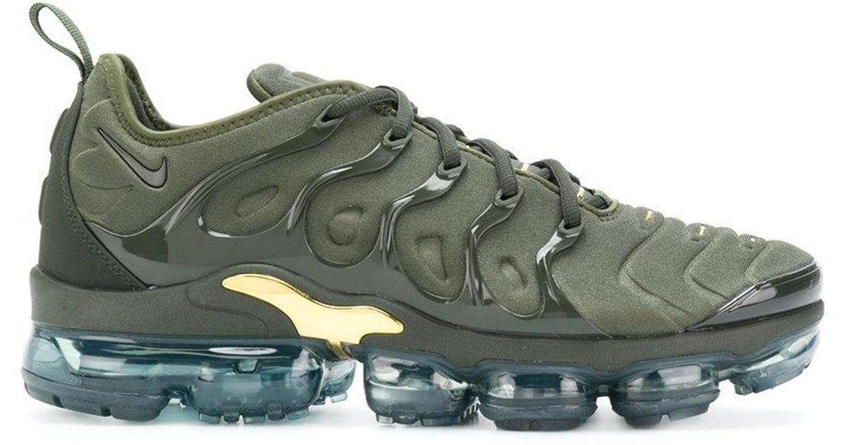 best sneakers b653c d3679 Nike Green Air Vapormax Plus Tn Sneakers for men