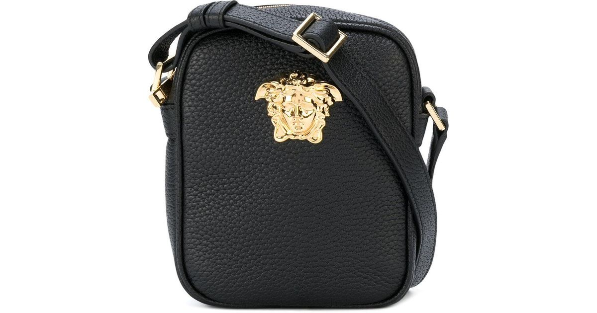 Versace Black Medusa Camera Bag