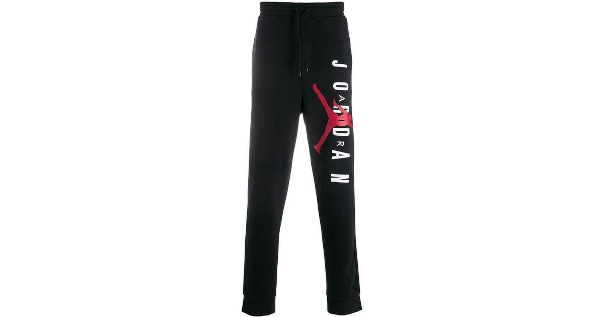 c8df45846d09 Nike Jordan Jump Man Track Pants in Black for Men - Lyst