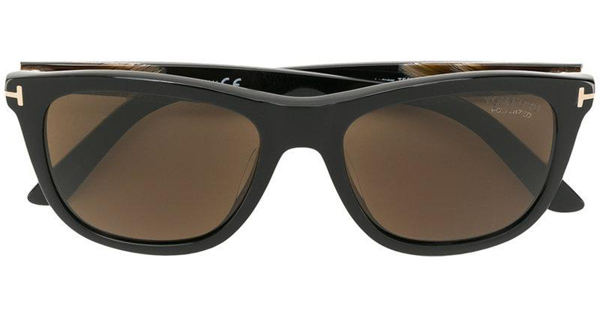7a278813c6ff Lyst - Tom Ford Square Shaped Sunglasses in Brown for Men