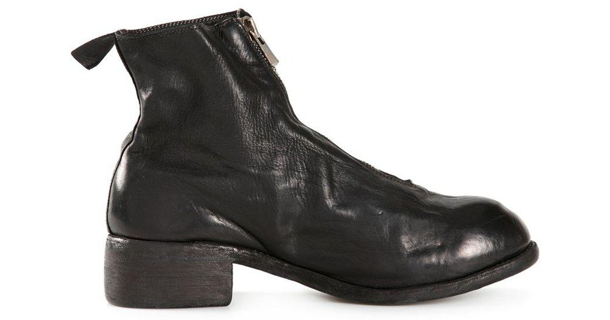 Guidi - Front Zip Boots - Men - Horse