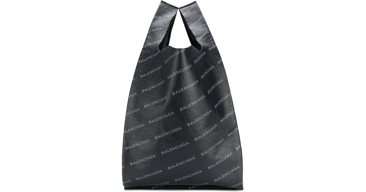 Balenciaga Leather Supermarket Shopper