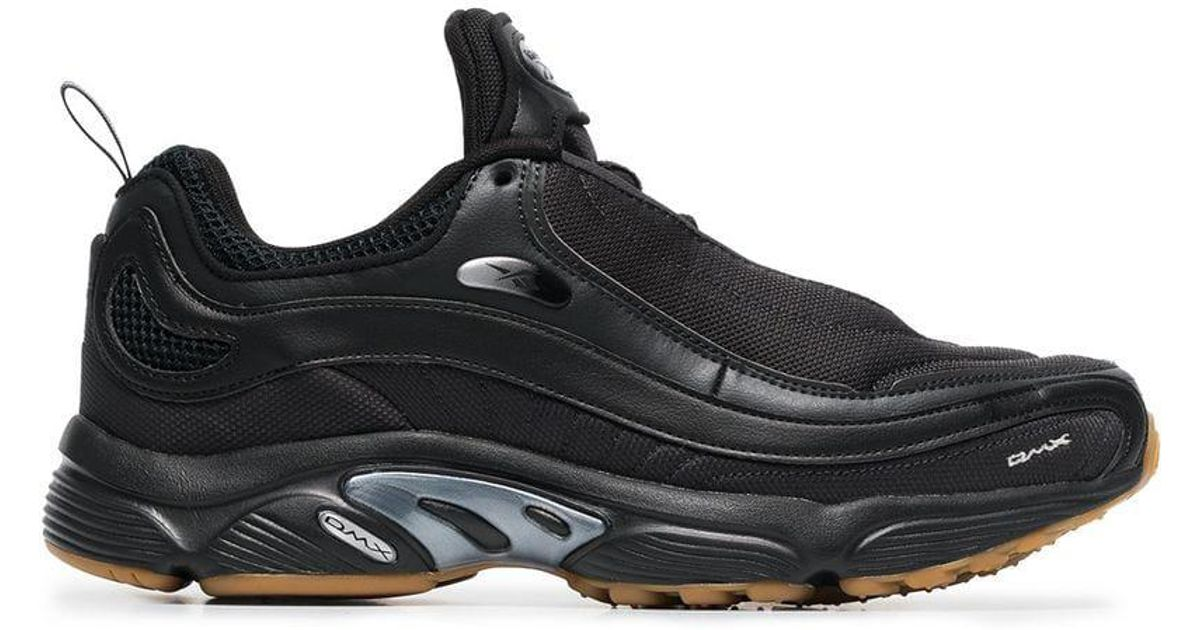 16317a28bee4a2 Lyst - Reebok Black Daytona Dmx Sneakers in Black for Men