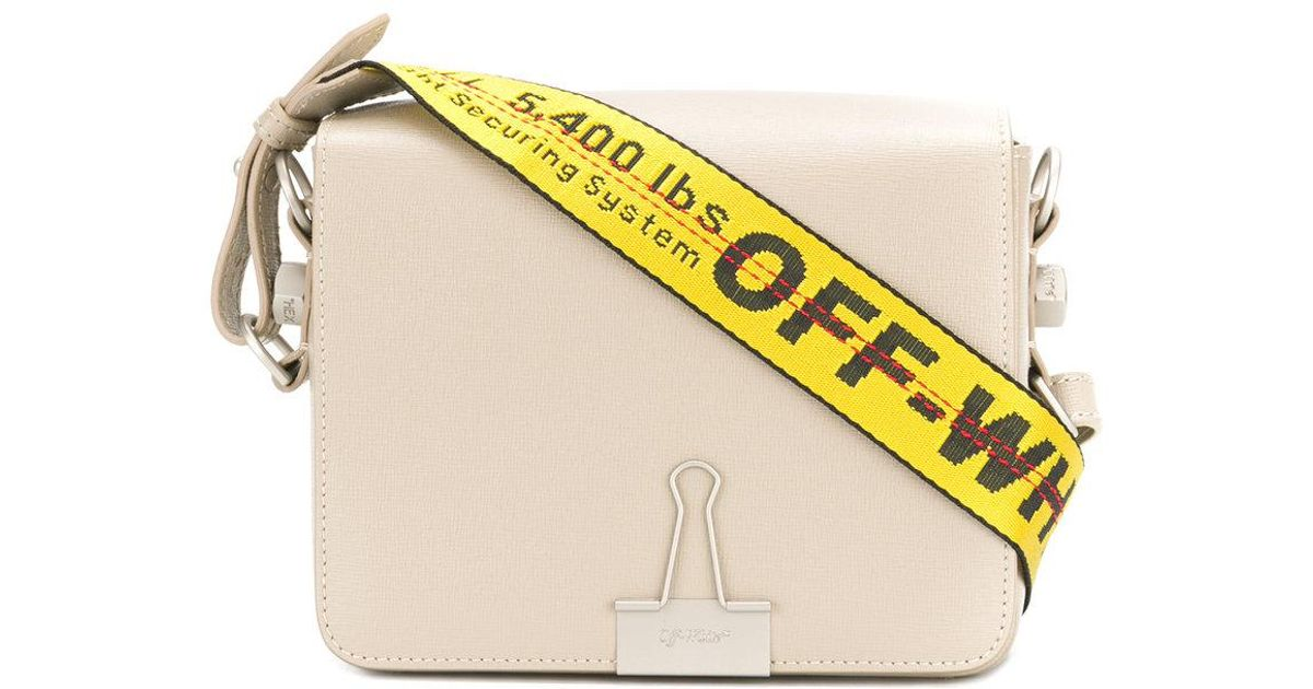 f2fc5a300a68b Off-White c/o Virgil Abloh Multicolor Industrial Shoulder Strap Shoulder Bag