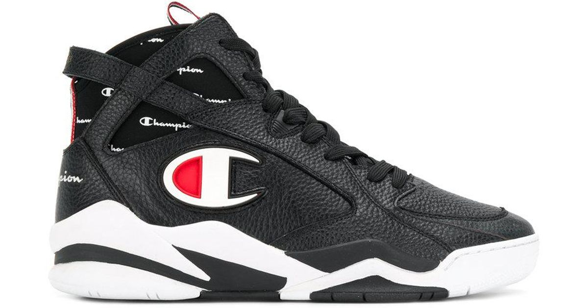 f6a82f547f8 Champion Zone 93 Hi-top Sneakers in Black for Men - Lyst