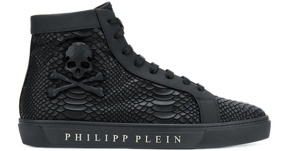 Philipp Plein Snake Effect High Top