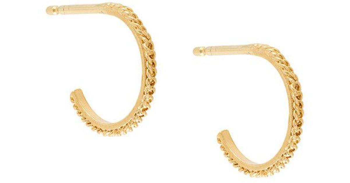 Wouters & Hendrix My Favourite filigree hoop earrings - Metallic ltGoLsE6pG