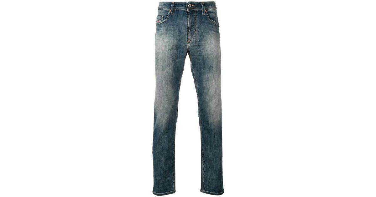 6569e31c DIESEL Thommer-t JoggJeans 084yp in Blue for Men - Lyst