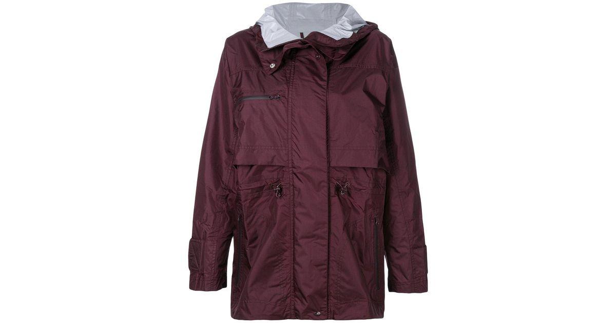 Adidas By Stella McCartney Purple Essentials Winter Performance Jacket