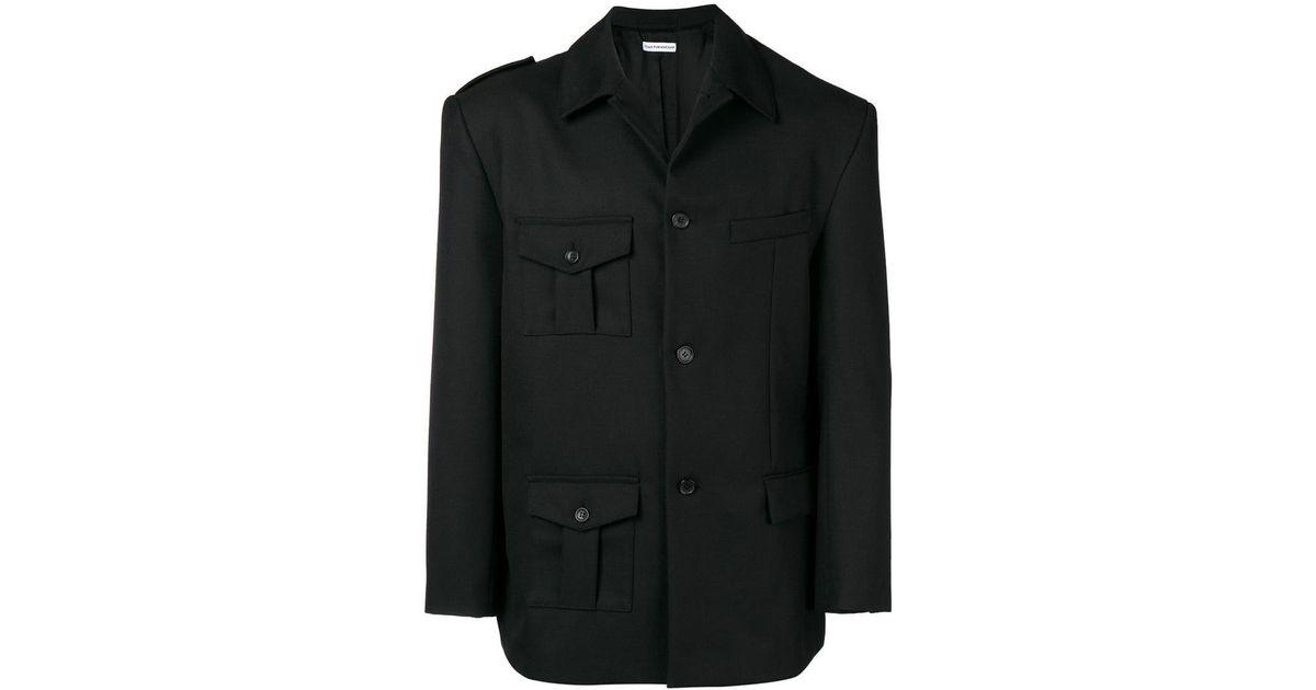 Rubchinskiy Asymmetric Jacket Gosha Rubchinskiy Jacket Jacket Gosha Noir Rubchinskiy Asymmetric Asymmetric Noir Noir Gosha dwSnXBEq