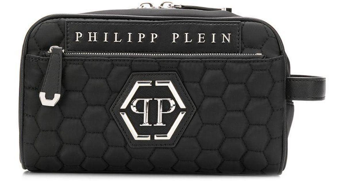 85176e4ef Sac banane à design texturé Philipp Plein pour homme en coloris Black