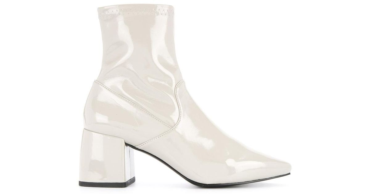 Senso Leather Simone Boots in White - Lyst