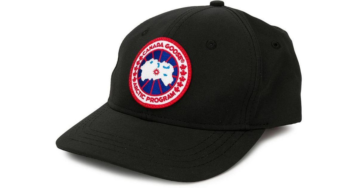 Lyst - Canada Goose Ball Cap in Black for Men 9f5a2b4be39