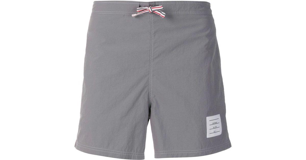deck shorts - Grey Thom Browne hhBtX0o0Oi