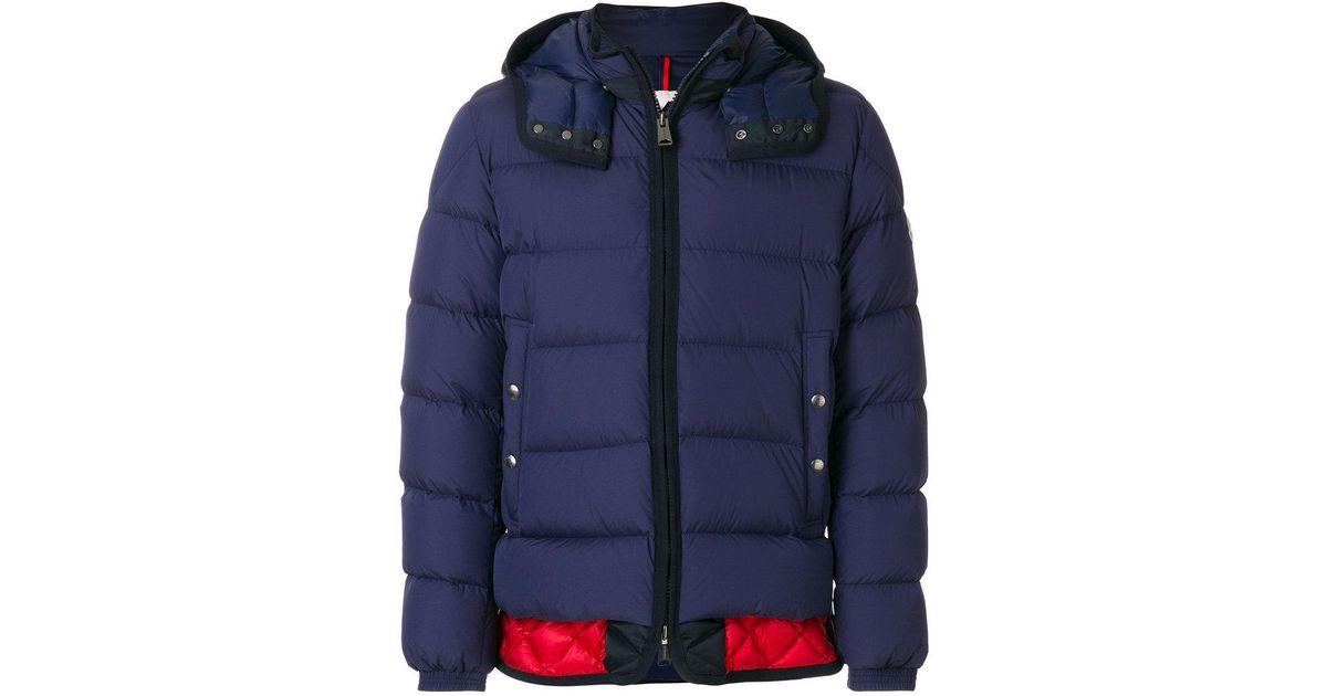 d3ca57559 Moncler Blue Tanguy Padded Jacket for men