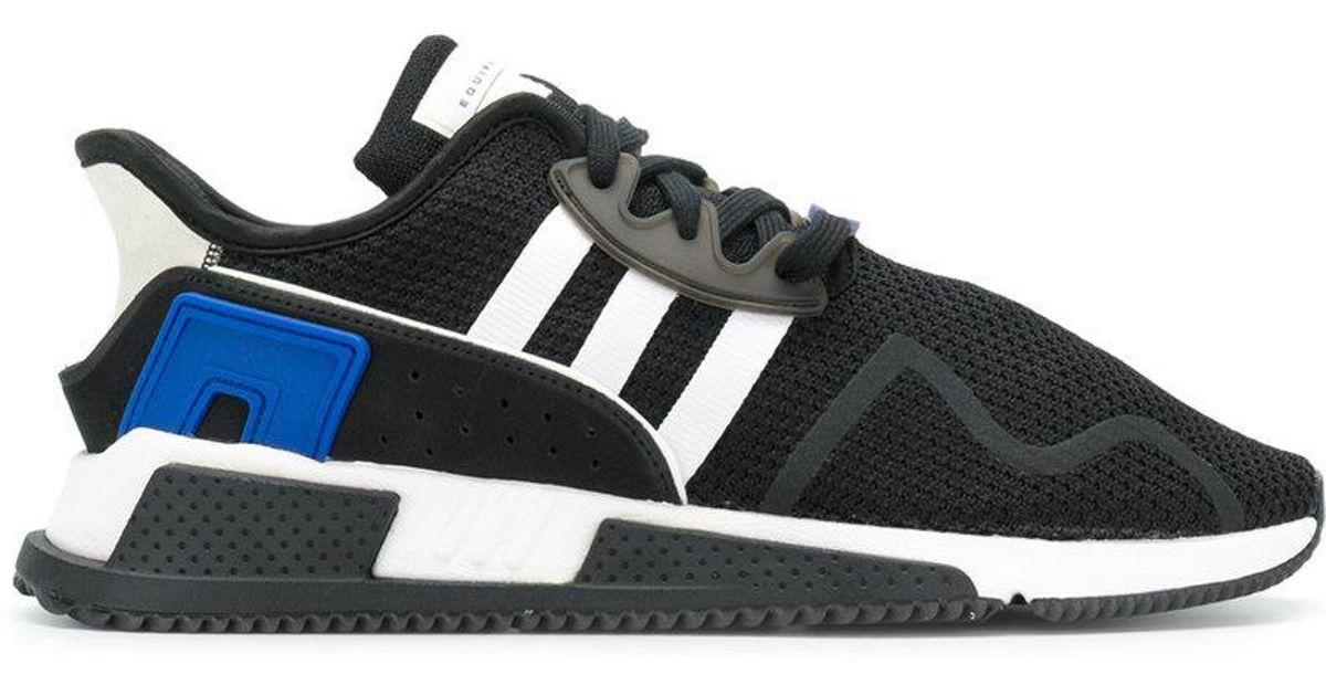 lyst adidas eqt attenuare le scarpe da ginnastica in nero per gli uomini.