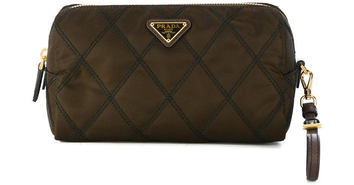 1e3afd6c378a84 Prada Quilted Makeup Bag | Stanford Center for Opportunity Policy in ...