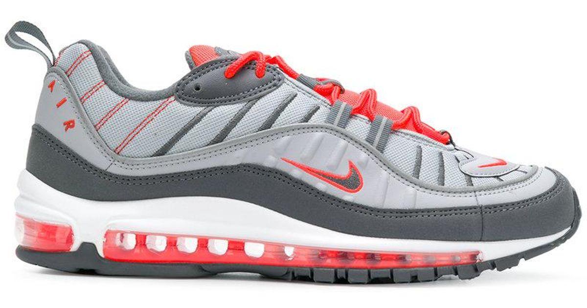 Nike Gray Air Max 98 Sneakers for men