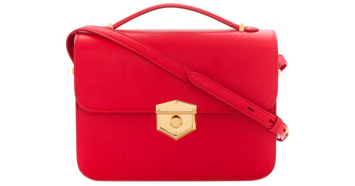 small wicca satchel bag - Red Alexander McQueen JSzvS