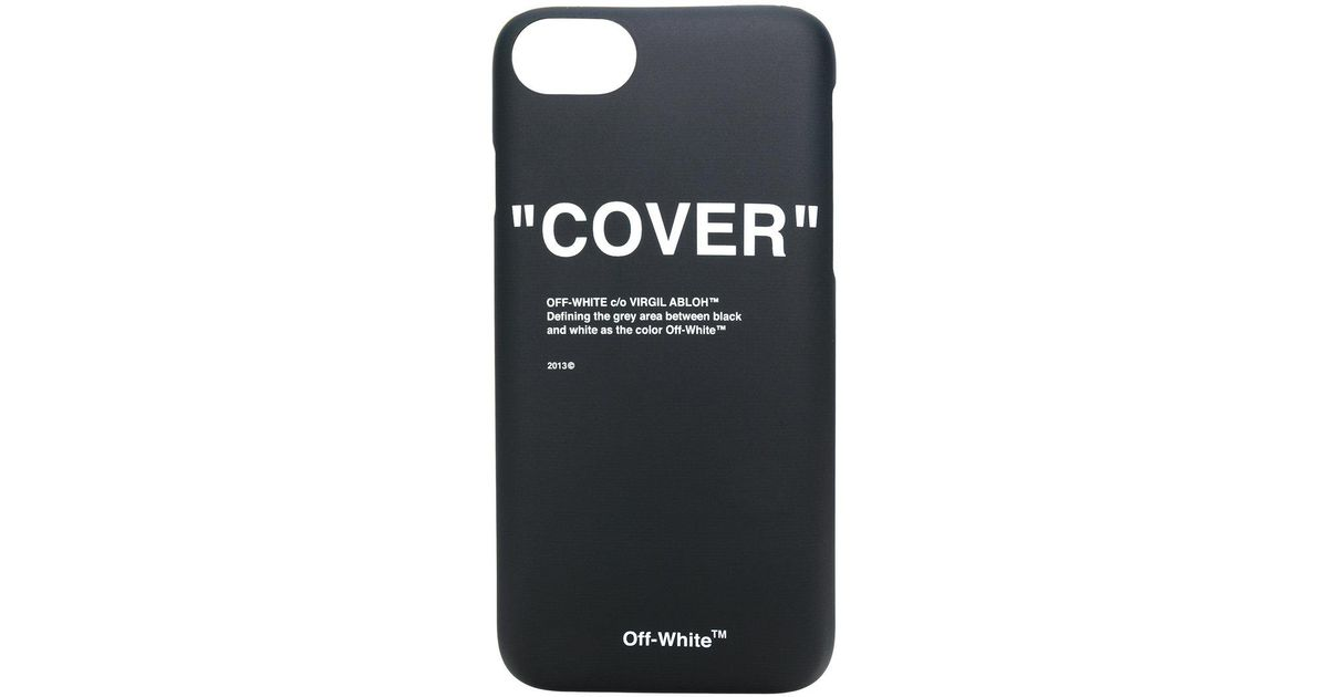 designer fashion f7582 8c34d Off-White c/o Virgil Abloh - Black Quotes 8 Cover - Lyst