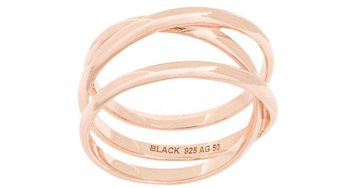 Maria Black Emilie wrap ring - Metallic dBN46qPSV