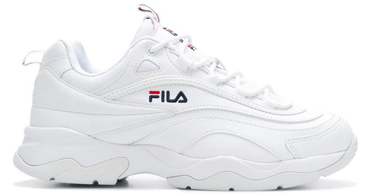 Fila White Ray Sneakers