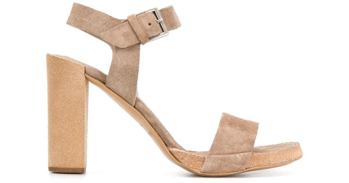 heeled sandals - Brown Del Carlo yNpkTMup