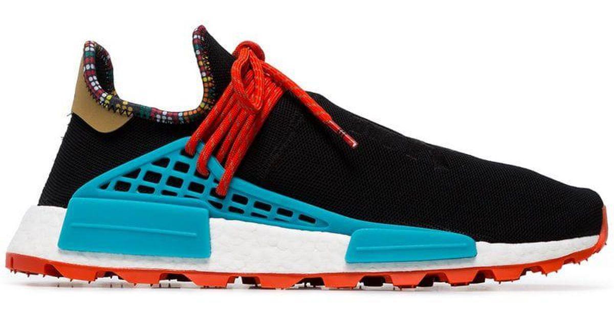 50219ca552271 Lyst - adidas X Pharrell Williams Black Human Body Nmd Sneakers in Black  for Men