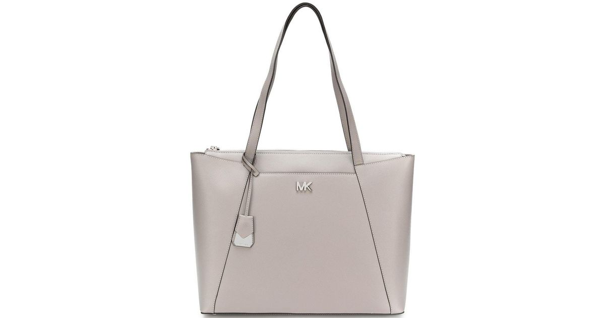 0d1a729f02885f Lyst - MICHAEL Michael Kors Maddie Tote Bag in Gray