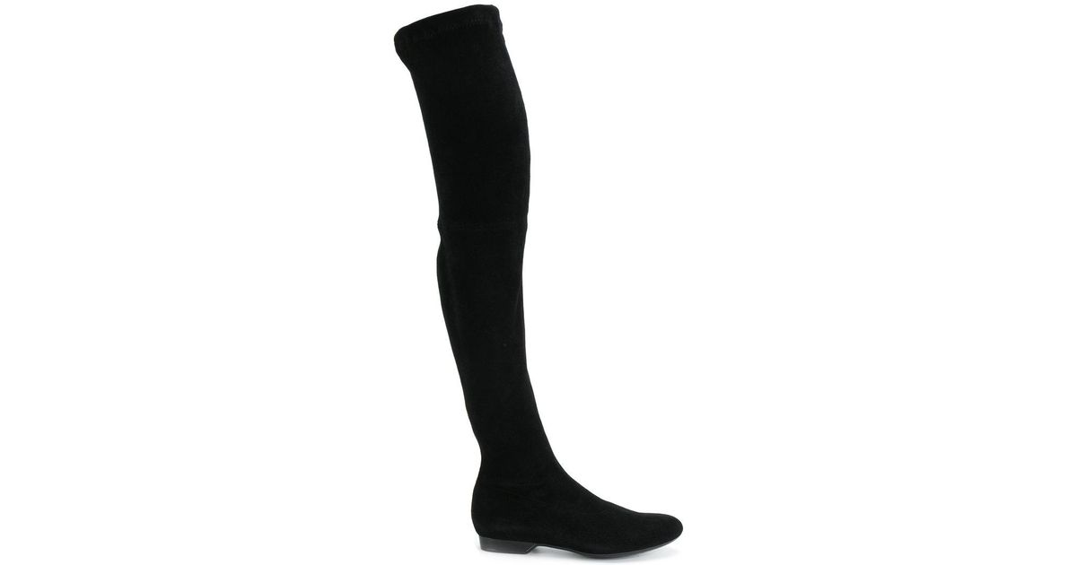 c903ed45f39 Lyst - Robert Clergerie Over-the-knee Boots in Black