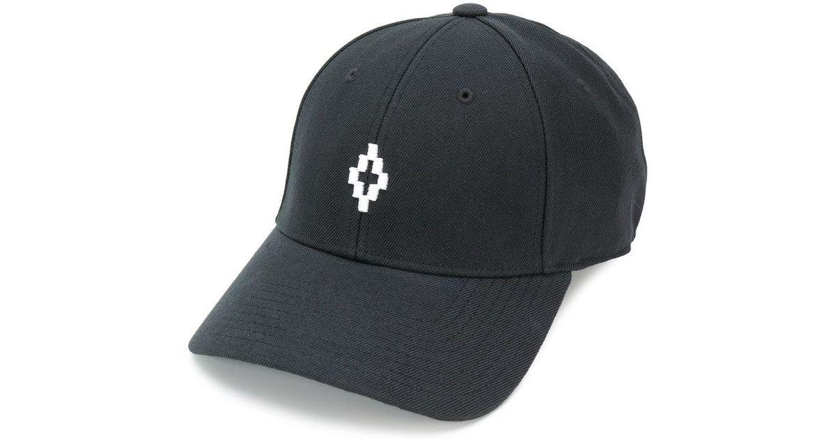 Cross logo cap - Black Marcelo Burlon 7oknw