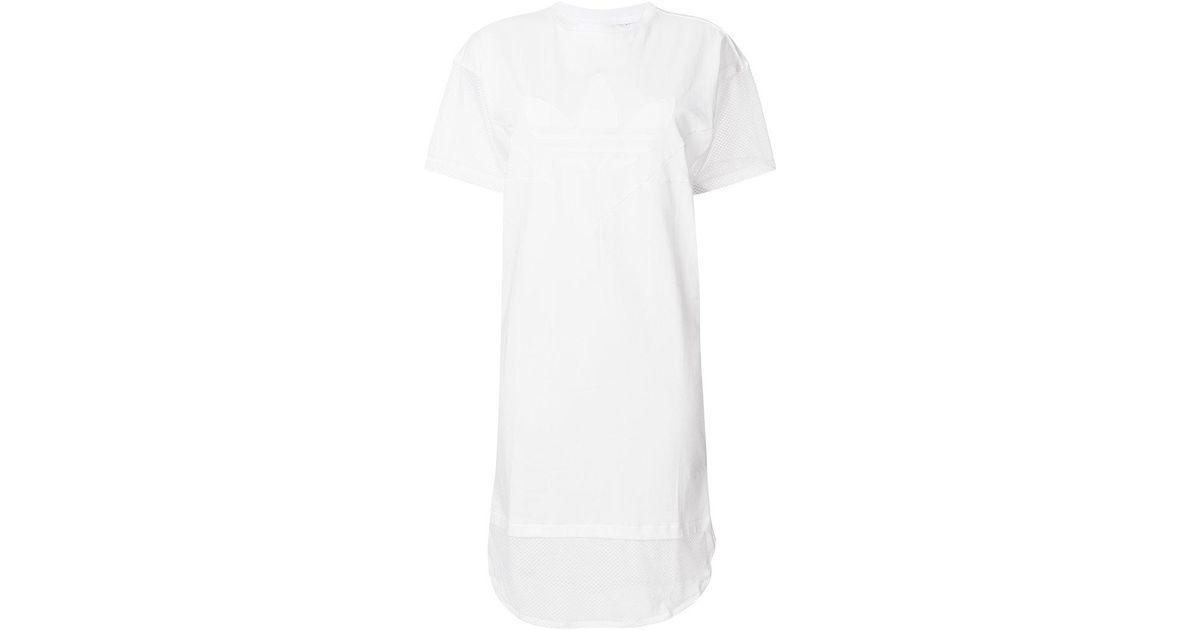 Lyst Adidas Clrdo Kleid in Weiß