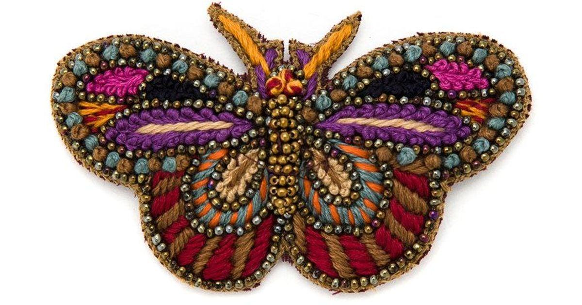Cecilia Prado Norma brooch - Multicolour HqPLBri