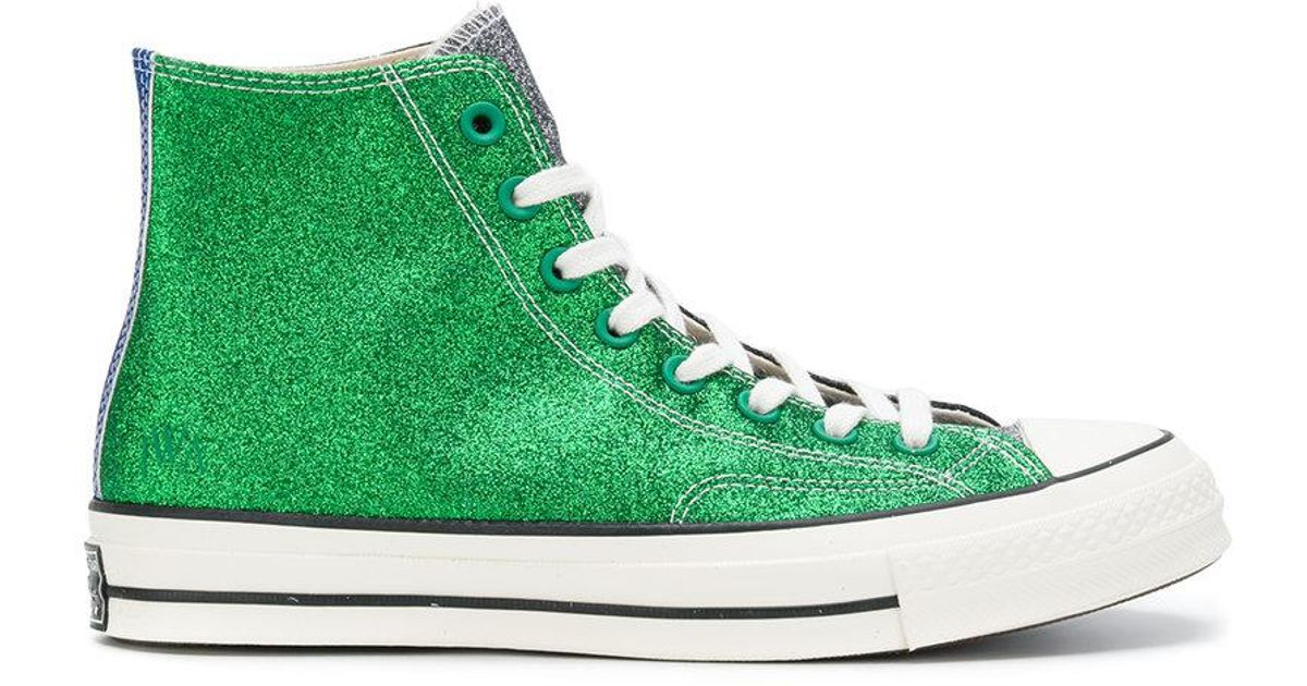 faa0d6f48f9 Converse X Jw Anderson Hi-top Sneakers in Green for Men - Lyst