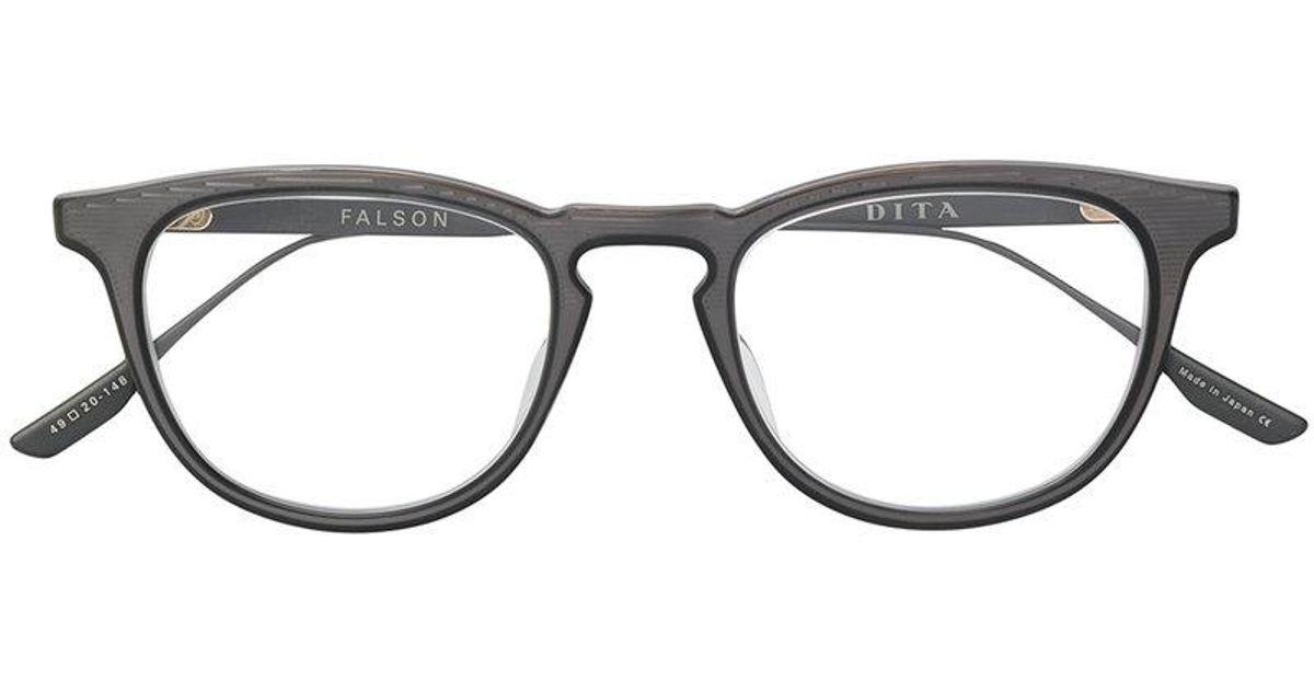 fb8029b92301 Lyst - Dita Eyewear Occhiali  falson  in Gray