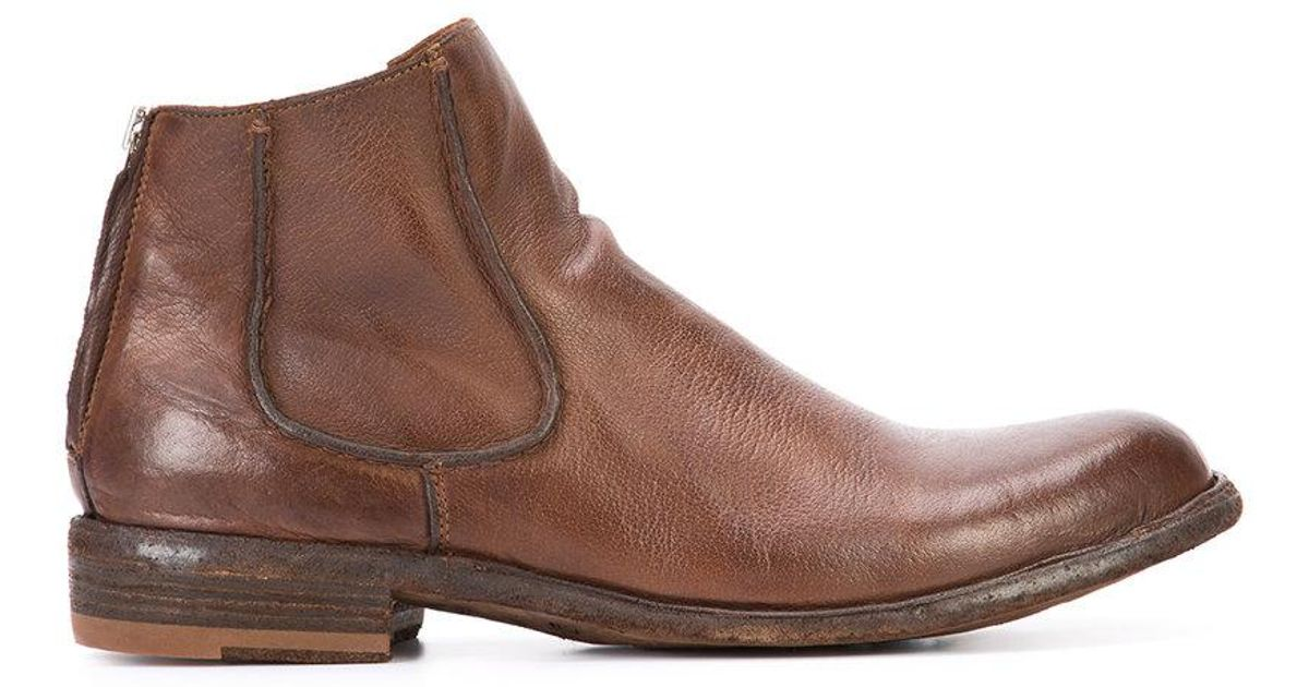 Legrand 42 ankle boots - Brown Officine Creative Fashion Style 1BmRNIcWMR