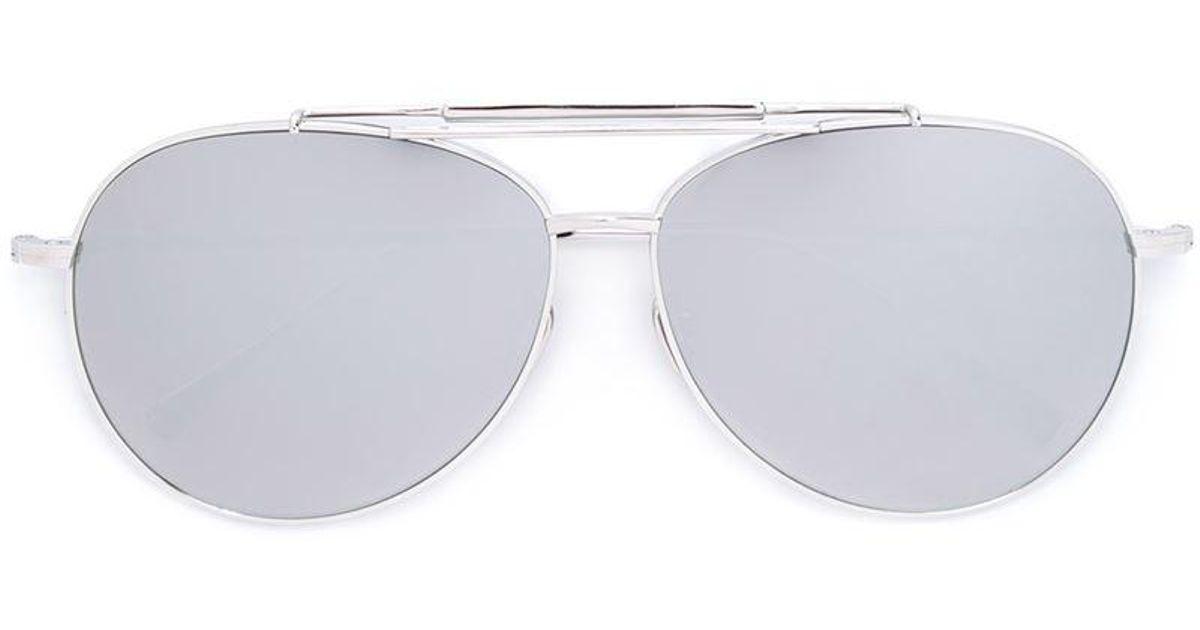3054d0730b78 Frency   Mercury  pilot Bottle Ii  Sunglasses in Gray - Lyst