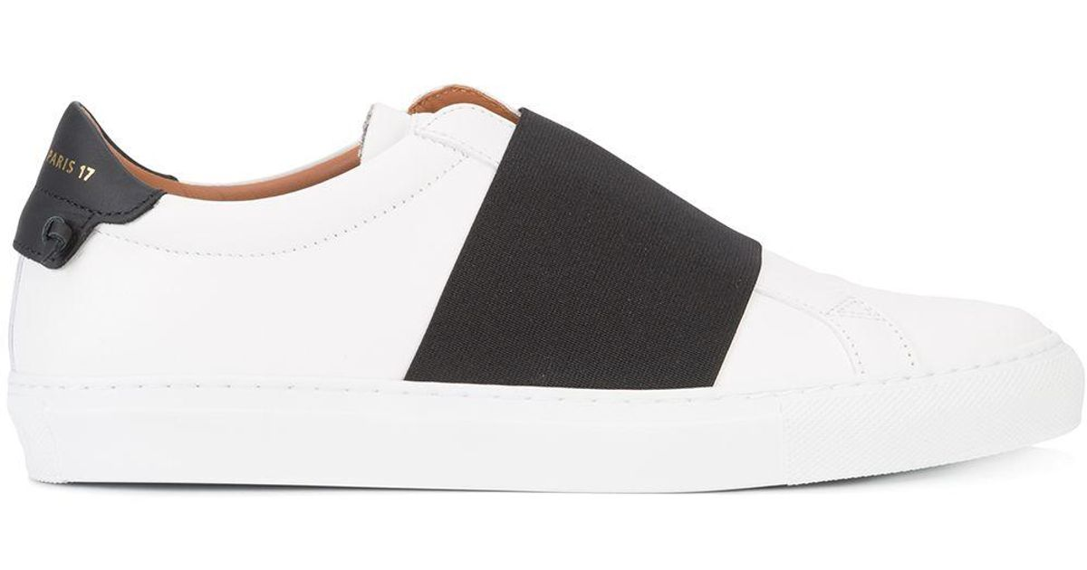 Givenchy Leather Elastic Skate Sneakers