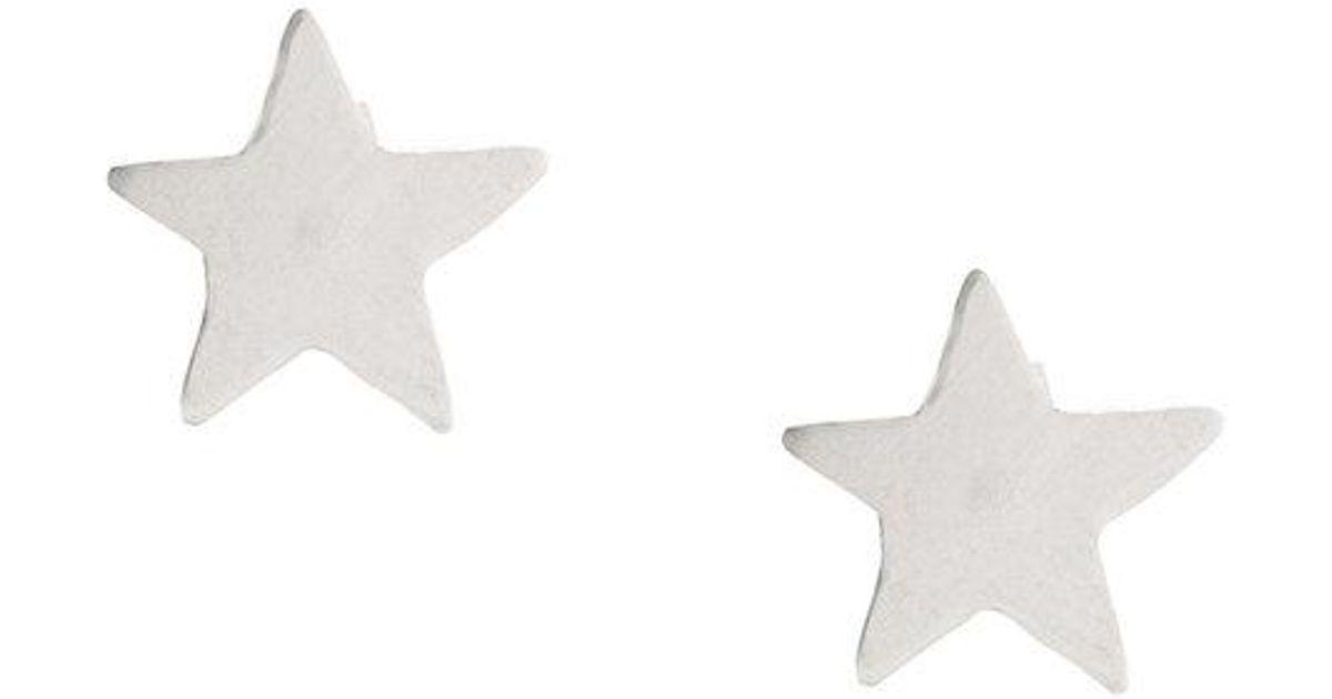 Star studs - Metallic PetiteGrand BGuou1D1d