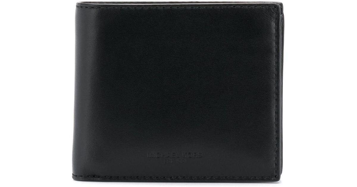 12950f44e416 Lyst - Michael Kors Odin Billfold Wallet in Black for Men