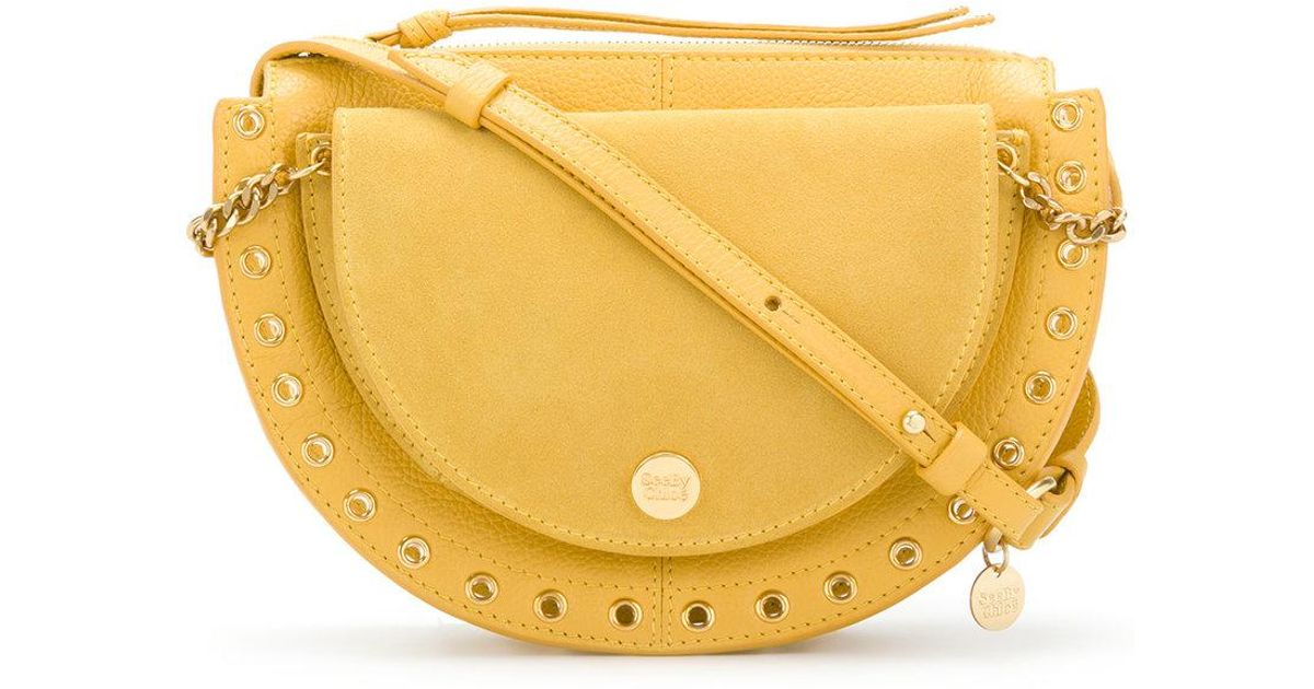 Kriss medium shoulder bag - Yellow & Orange See By Chlo QbkEA29QZ