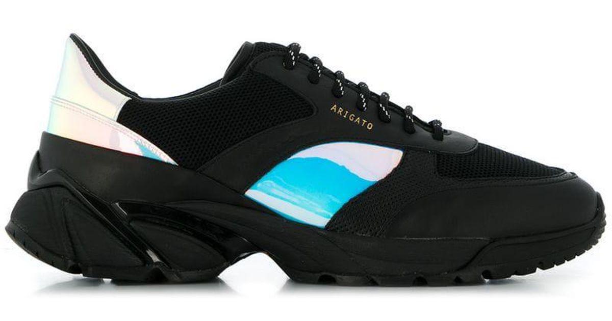 axel arigato tech runner black