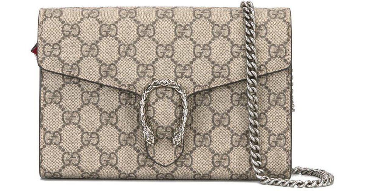 4fa37f9b76 Gucci Multicolor Logo Print Crossbody Bag