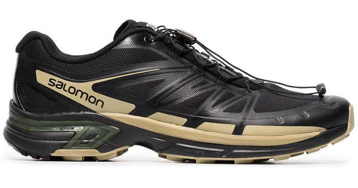 the latest e899d d107c Salomon S/Lab X The Broken Arm Black And Gold Metallic Slab Wings Pro  Sneakers for men